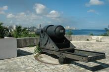 Cannon In Fortress La Havana C...