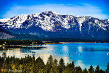 Lake Tahoe In The Spring With ...