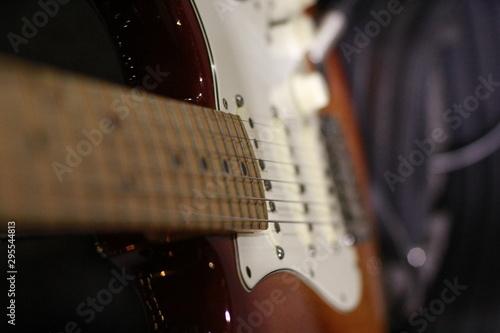 Guitarra Music Canvas Print