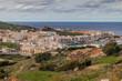 Aerial view of Marsalforn on Gozo island, Malta
