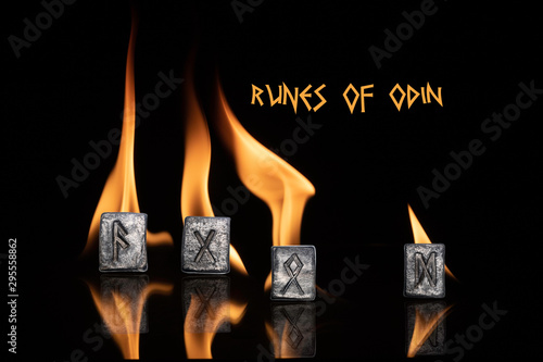 Runes of Odin Canvas Print