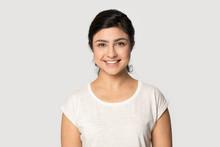 Headshot Portrait Of Smiling I...