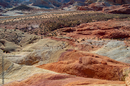 arches national park valley of fire desert