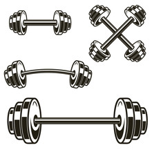 Set Of Powerlifting Barbells I...