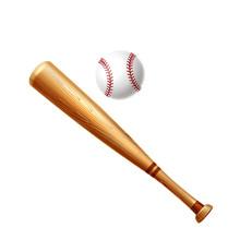 Vector Realistic Baseball Bat ...