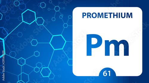 Tela  Promethium 61 element