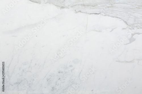 White marble background for your style.