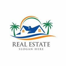 Real Estate Logo Design Templa...