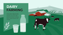 Vector Illustration For Dairy ...