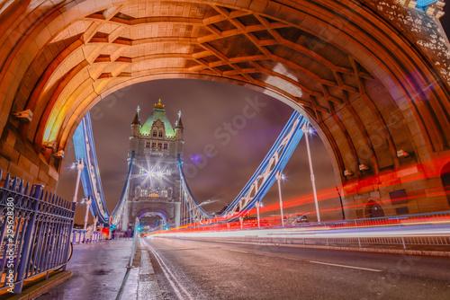 Obraz na płótnie London Tower Bridge w ujęciu 3D