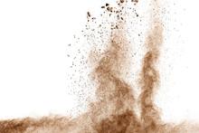 Brown Dust Explosion Cloud.Bro...