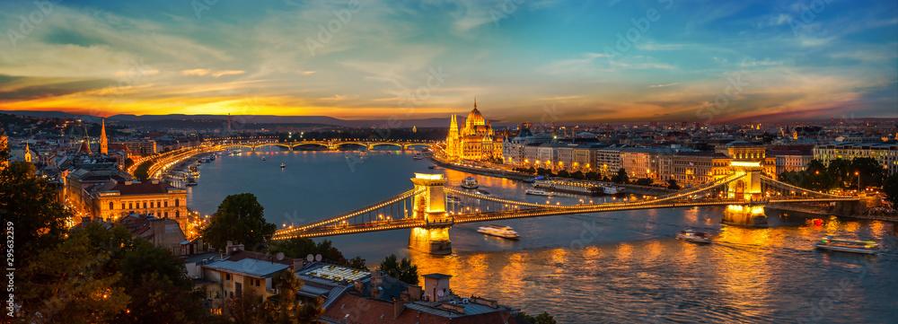 Fototapeta Capital of Hungary