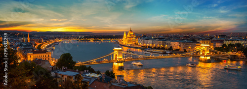 Capital of Hungary Wallpaper Mural
