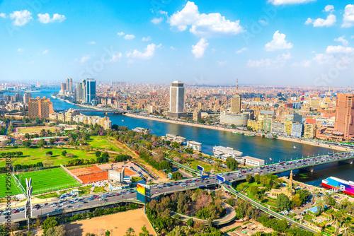 Fototapety, obrazy: Cairo aerial View