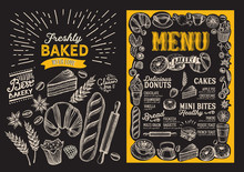 Bakery Menu Food Template For ...