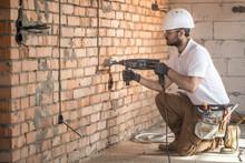 Handyman Uses Jackhammer, For ...