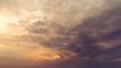 Dramation overcast morning sky nature background