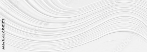 Fotomural  3 d white background with elements in a fantastic abstract design, texture in a modern style for wallpaper