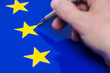 canvas print picture - Symbolfoto Europawahl