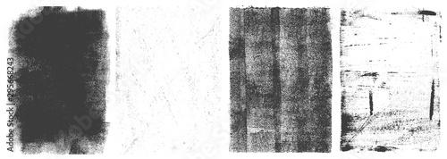 Fototapety, obrazy: Grunge vertical frames retro set