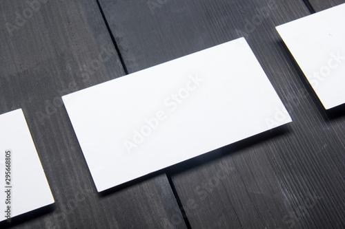 Business cards blank Canvas-taulu