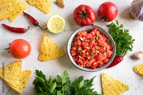 Salsa Sauce Fototapete