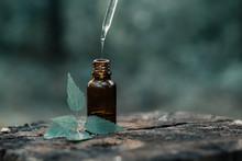 Bottle Of Essential Oil Aromat...