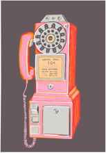 Rotary Pay Phone