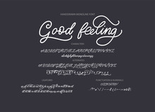 Hand Drawn Calligraphic Vector...