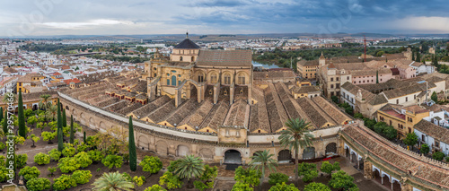 Mosque–Cathedral (Mezquita-Catedral) of Cordoba, Spain Fototapet
