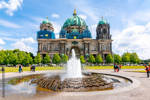 Tuinposter Oude gebouw Berlin Cathedral (Berliner Dom) on Museum island, Germany