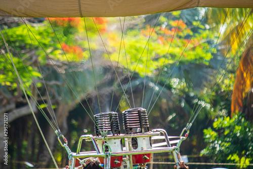 Obraz na plátně  Hot air balloon competition