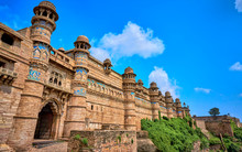 Gwalior Fort Madhya Pradesh India