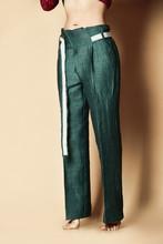 New Design Woman Green Pants C...