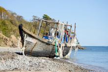 Old Abandoned Fishing Schooner...