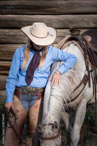 Fototapeta Colorado Cowgirl obraz