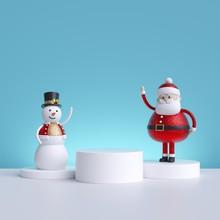 3d Christmas Characters: Santa...