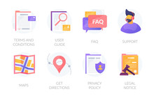 User Web Experience Icons Set....