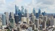 Aerial of Downtown of Philadelphia, daytime cityscape, business centre of Pennsylvania, travel around US, financial giant, crowded streets of big city