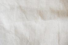 White Calico Fabric Cloth Back...