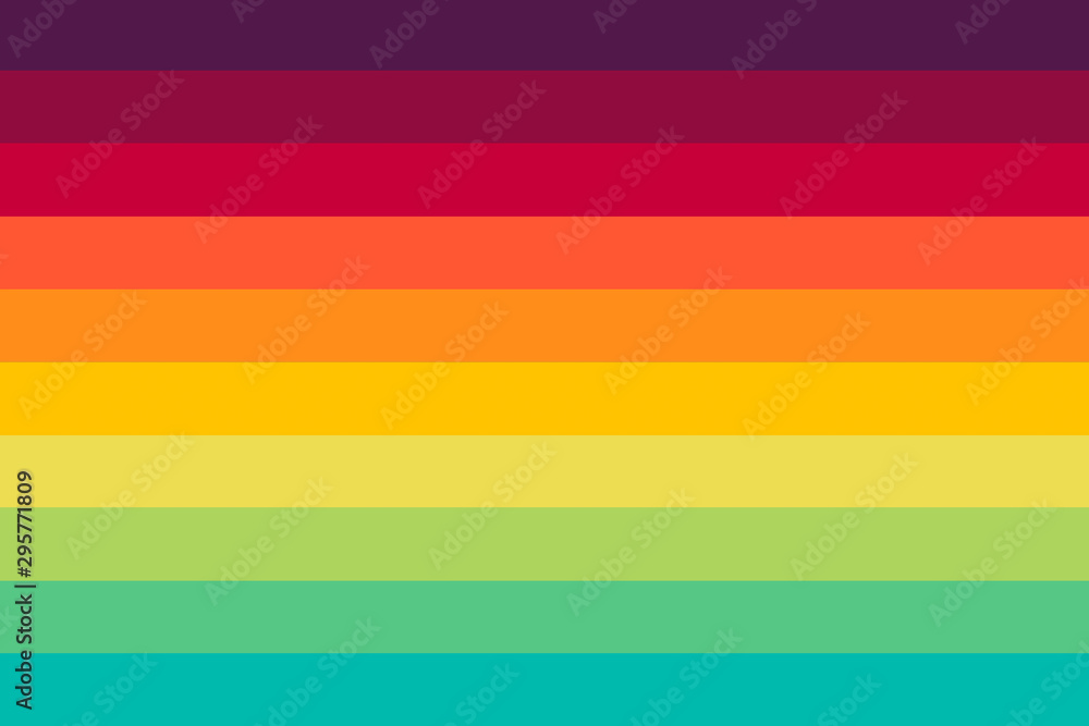 Fototapety, obrazy: Abstract colorful background with straight lines