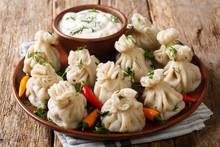 Georgian National Dish Khinkal...