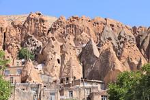 Kandovan - Ancient Iranian Cave Village In The Rocks, Iran