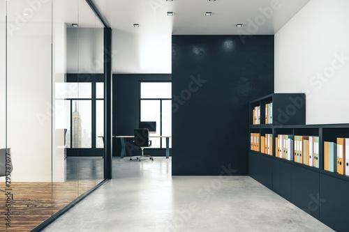 Contemporary office interior