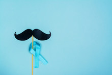 Movember Background, Copy Space