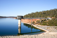 South Dandelup Dam, Spillway And Surrounding  Bushland