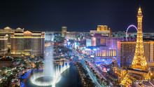 Las Vegas Strip Aerial View As...
