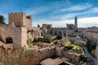 canvas print picture - The Tower of David in ancient Jerusalem Citadel in Old City of Jerusalem, Israel.
