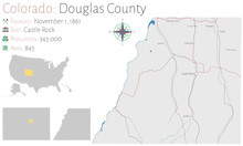 Large And Detailed Map Of Doug...