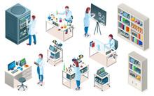 Set Of Isolated Laboratory Wit...